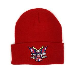 Vintage 2000's Diplomats Dipset Red Beanie